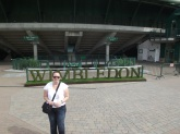 Lavinia at Wimbledon