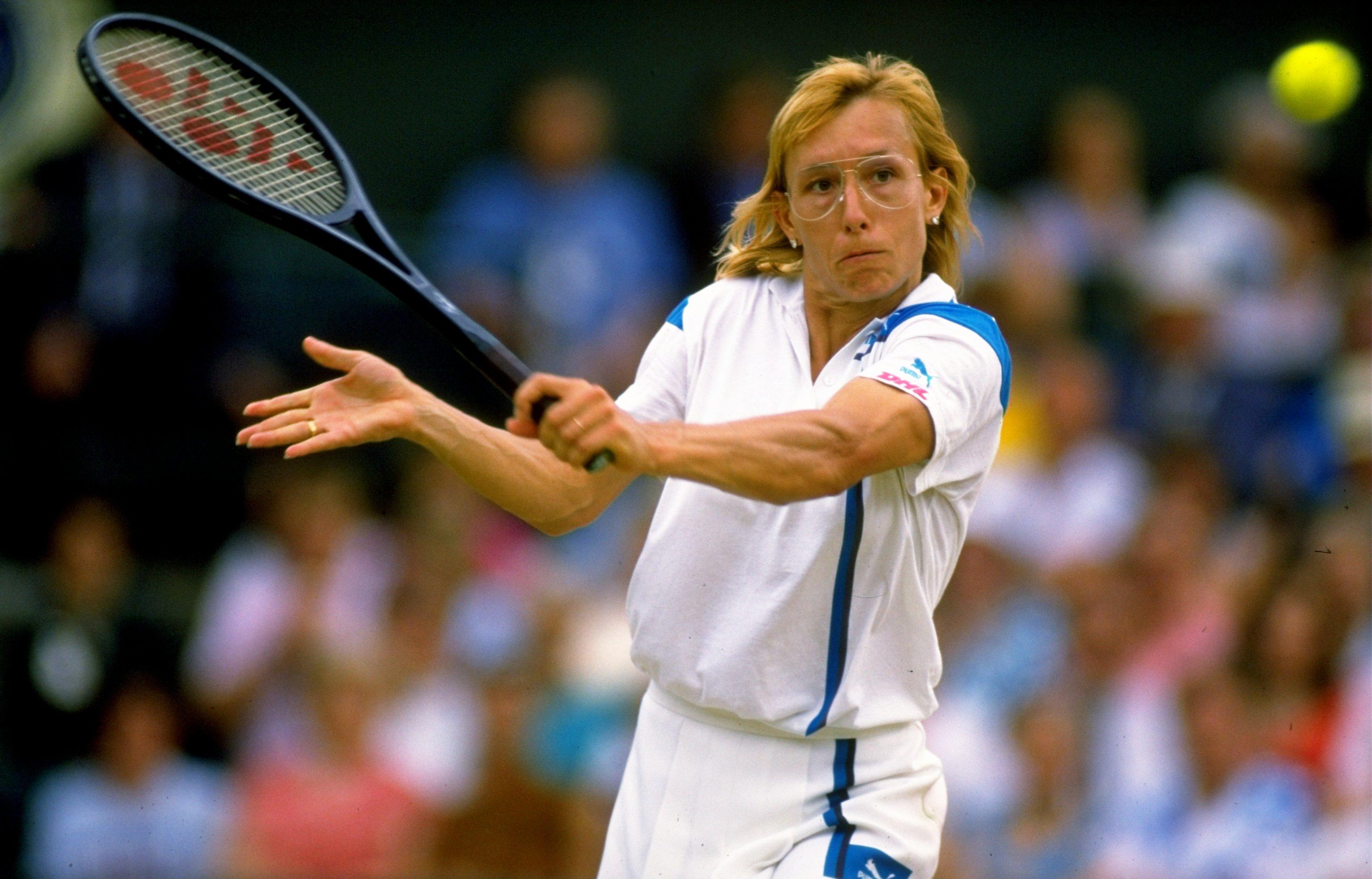 Martina Navratilova 18 Grand Slam singles titles